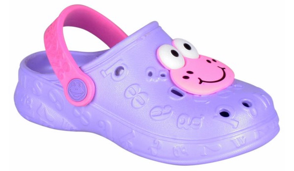 Kids Hoppa Clog, Light Lila 4