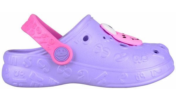 Kids Hoppa Clog, Light Lila 1