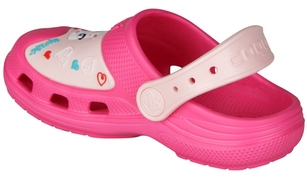 Kids Talking Tom & Friends Clog, Light Fuchsia/Candy Pink 2