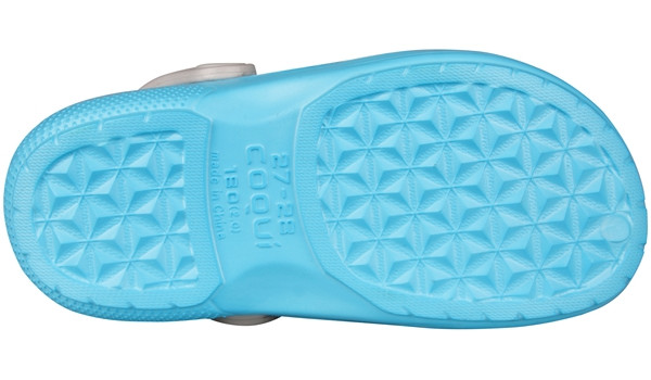 Kids Talking Tom & Friends Clog, New Blue/Stone 3