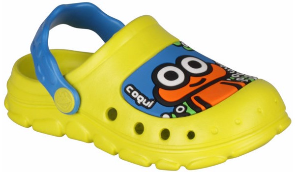 Kids Stoney Clog, Citrus/Sea Blue 4
