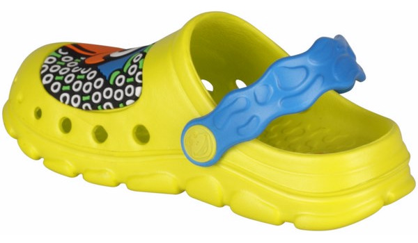 Kids Stoney Clog, Citrus/Sea Blue 2