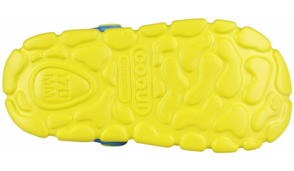 Kids Stoney Clog, Citrus/Sea Blue 3