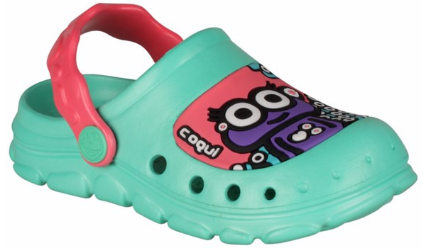 Kids Stoney Clog, Mint/New Rouge 4