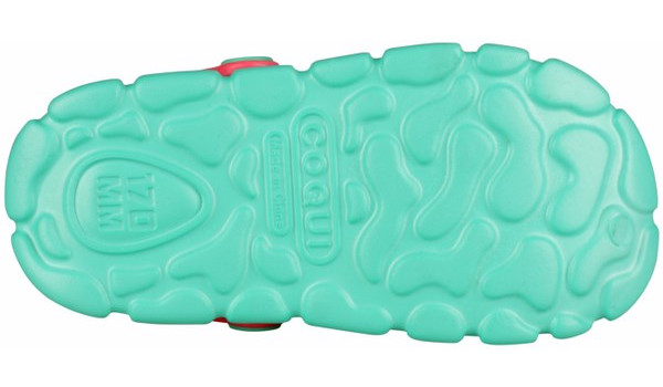 Kids Stoney Clog, Mint/New Rouge 3