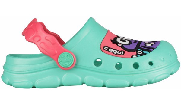 Kids Stoney Clog, Mint/New Rouge 1