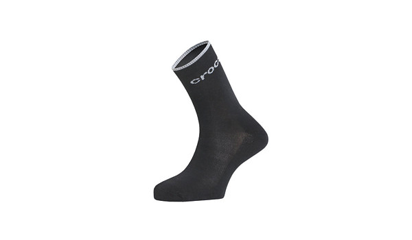 Crocs Crew Walking Socks, Black