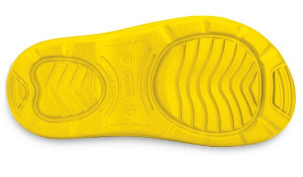 Kids Crocband Jaunt, Yellow 3