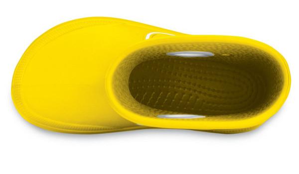 Kids Crocband Jaunt, Yellow 5