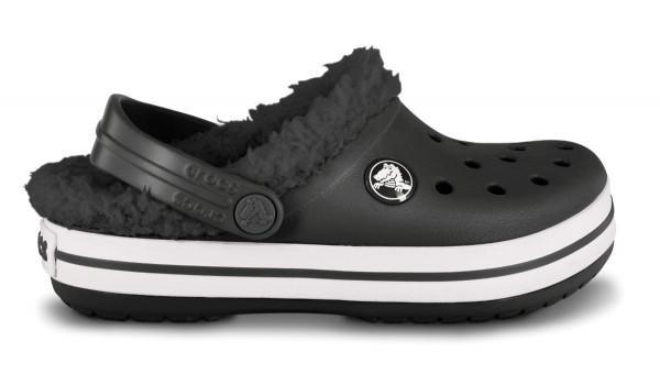Kids Crocband Mammoth , Black/Black 1
