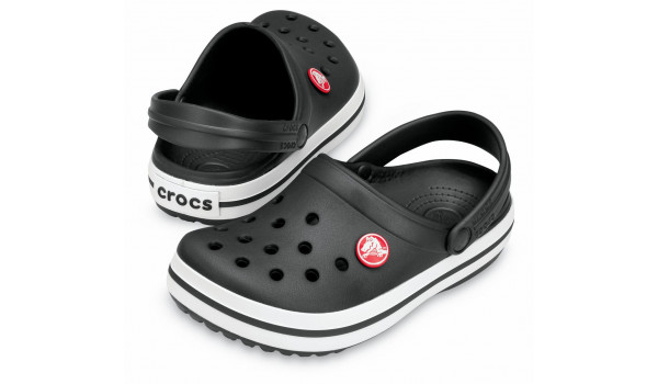 Kids Crocband, Black/Black 4