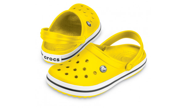 Crocband, Yellow/Yellow  4