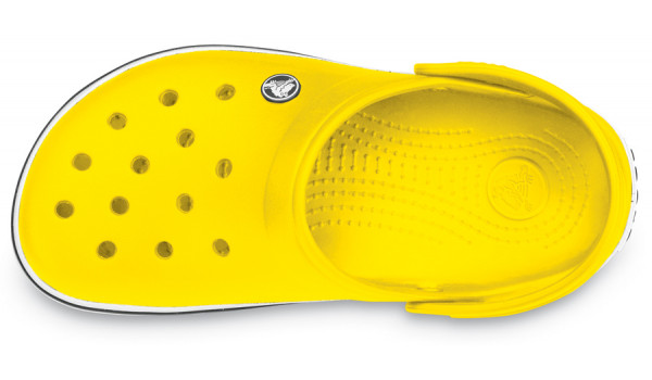 Crocband, Yellow/Yellow 6