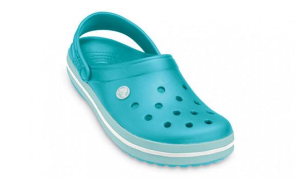 Crocband, Aqua/Seafoam 5