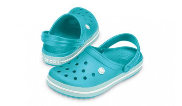 Crocband, Aqua/Seafoam 4