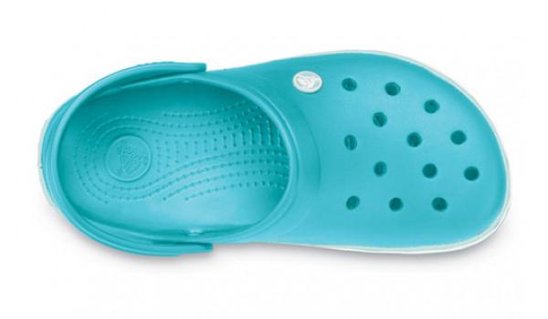 Crocband, Aqua/Seafoam 6