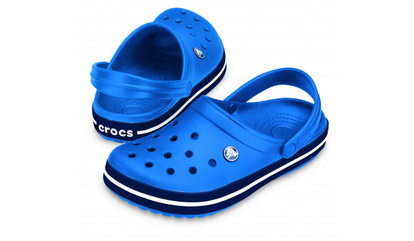 Crocband, Sea Blue/Navy 4