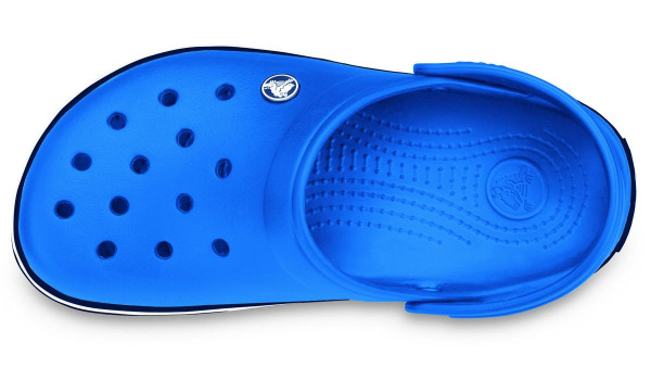Crocband, Sea Blue/Navy 6