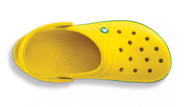 Crocband, Yellow/Kelly Green 5