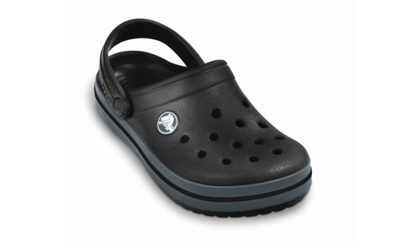 Kids Crocband, Black/Graphite 6