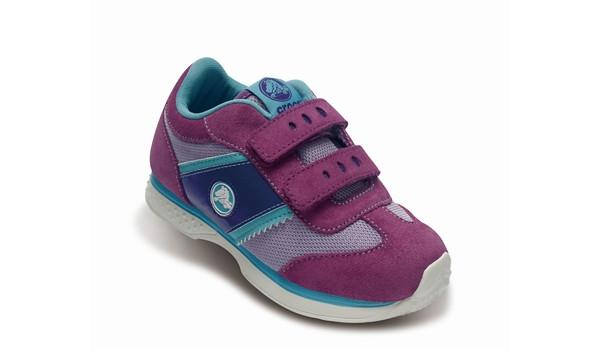 Kids Retro Sprint Sneaker, Lavender/Dahlia 5
