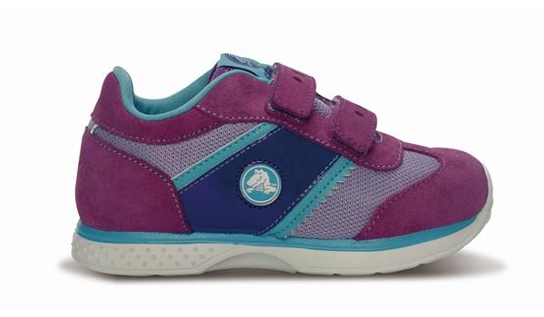 Kids Retro Sprint Sneaker, Lavender/Dahlia 1