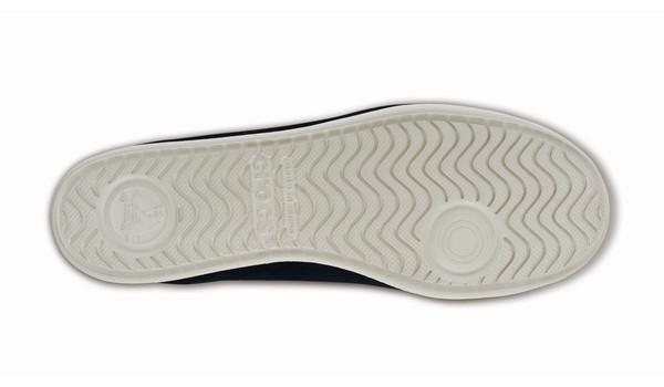 LoPro Suede HiTop Sneaker, Black/Ultraviolet 3