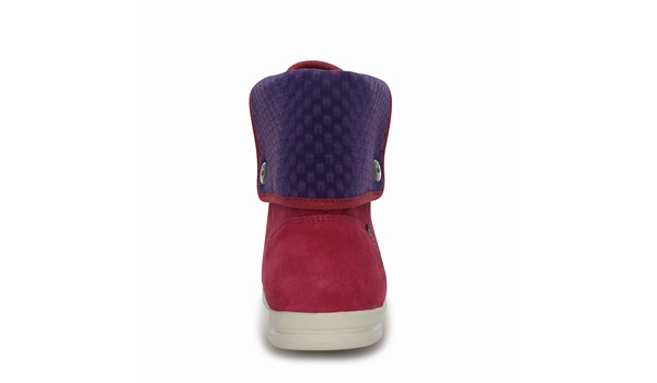 LoPro Suede HiTop Sneaker, Pomegranate/Mulberry 2