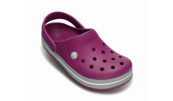 Crocband, Viola/Light Grey 5