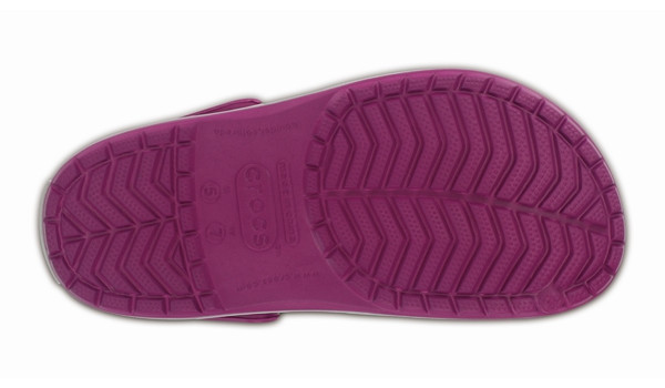 Crocband, Viola/Light Grey 3