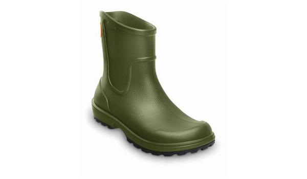 Wellie Rain Boot Men, Army Green 5