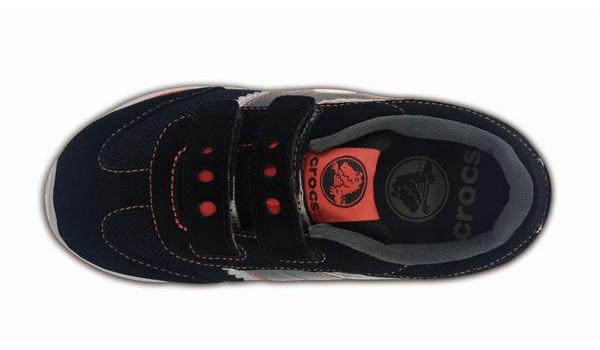 Kids Retro Sprint Sneaker, Black/Black 6