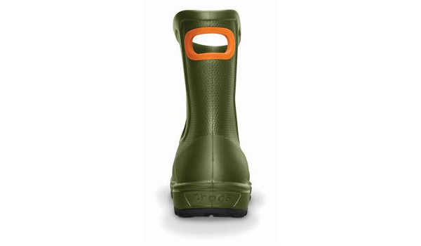 Wellie Rain Boot Men, Army Green 2