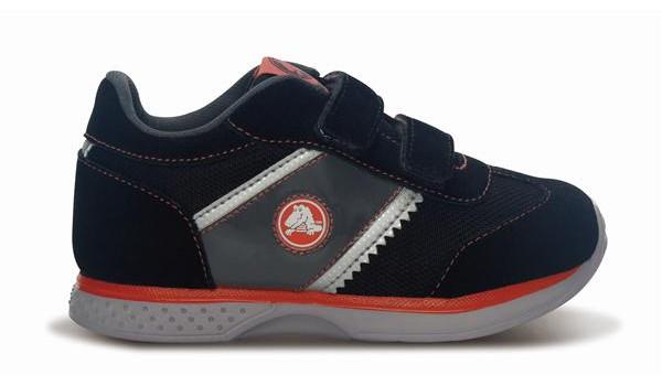 Kids Retro Sprint Sneaker, Black/Black 1