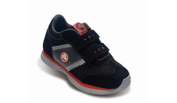 Kids Retro Sprint Sneaker, Black/Black 5