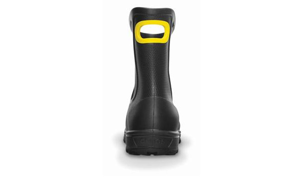 Wellie Rain Boot Men, Black 2