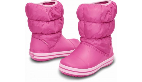 Kids Winter Puff Boot, Fuchsia/Bubblegum 4