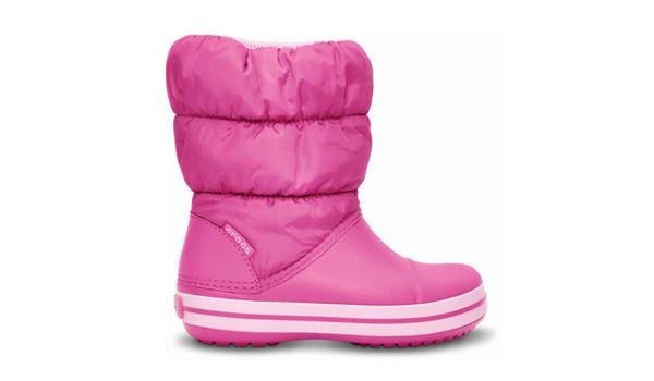 Kids Winter Puff Boot, Fuchsia/Bubblegum 1
