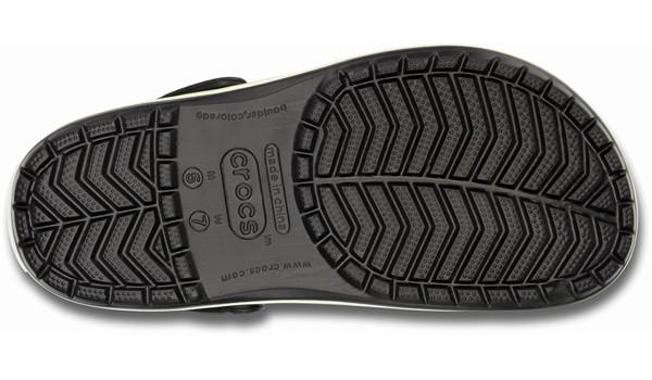 Crocband, Onyx/Volt Green 3