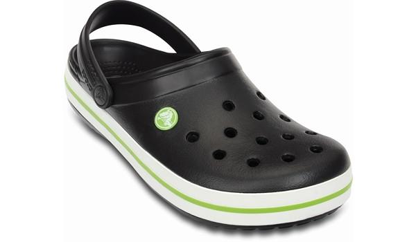 Crocband, Onyx/Volt Green 5