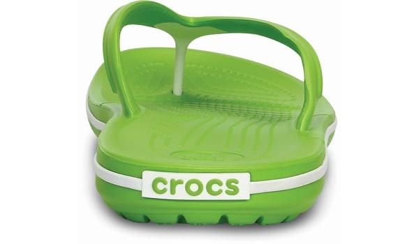 Crocband Flip, Volt Green/White 2