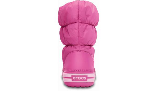 Kids Winter Puff Boot, Fuchsia/Bubblegum 2