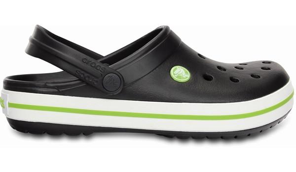 Crocband, Onyx/Volt Green 1