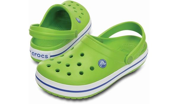 Crocband, Volt Green/Varsity Blue 4