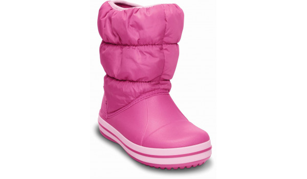 Kids Winter Puff Boot, Fuchsia/Bubblegum 5