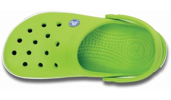 Crocband, Volt Green/Varsity Blue 6