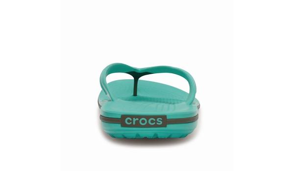 Crocband Flip, Island Green/Walnut 1