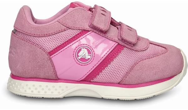 Kids Retro Sprint Sneaker, Carnation/Neon Magenta 1