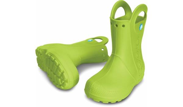 Kids Handle It Rain Boot, Volt Green 4