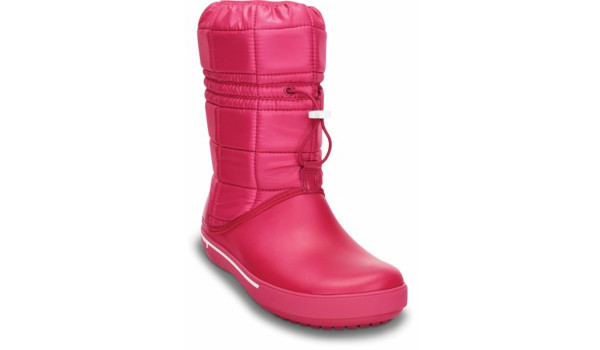 Crocband 2.5 Winter Boot, Raspberry/White 5